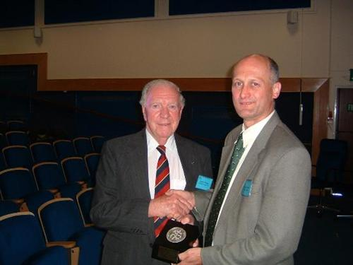 Professor Glyn O. Phillips, Trust Medal winner June 2007